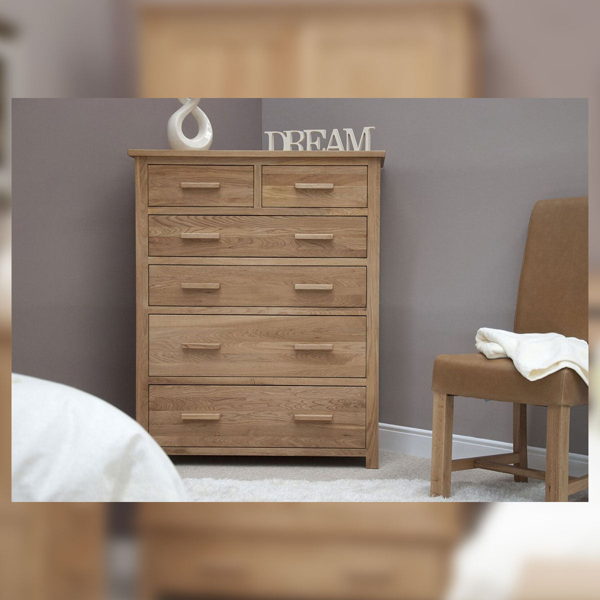 Florence 6 Drawer Jumbo Chest Of Drawers