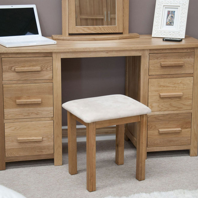Florence Double Dressing Table And Stool