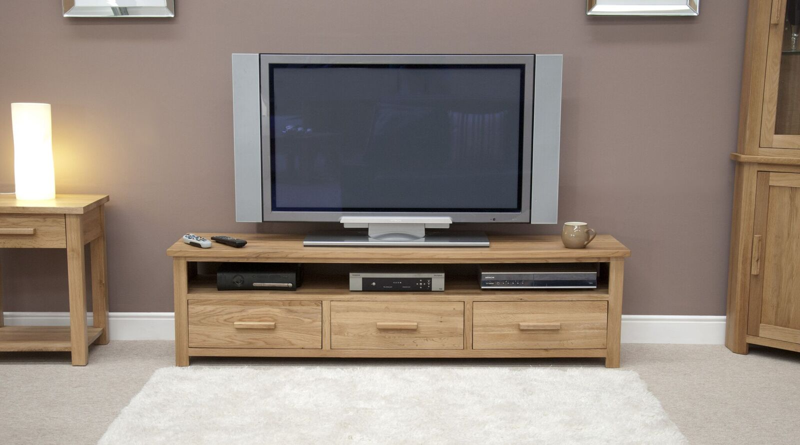 Florence Wide Plasma TV Unit