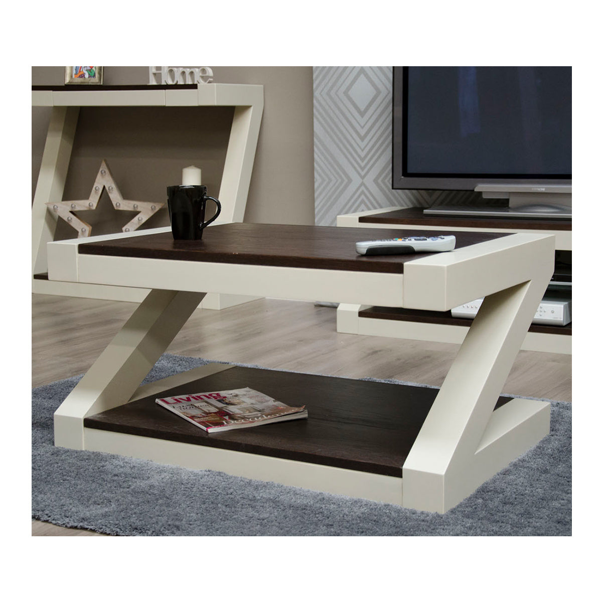 Zenith Painted Oak Coffee Table