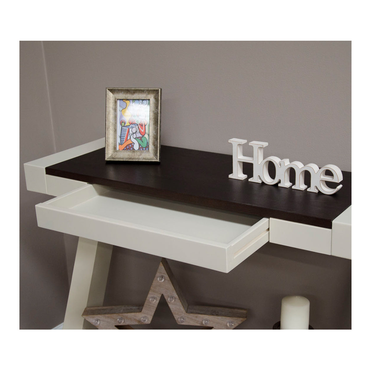Zenith Painted Oak Console Table