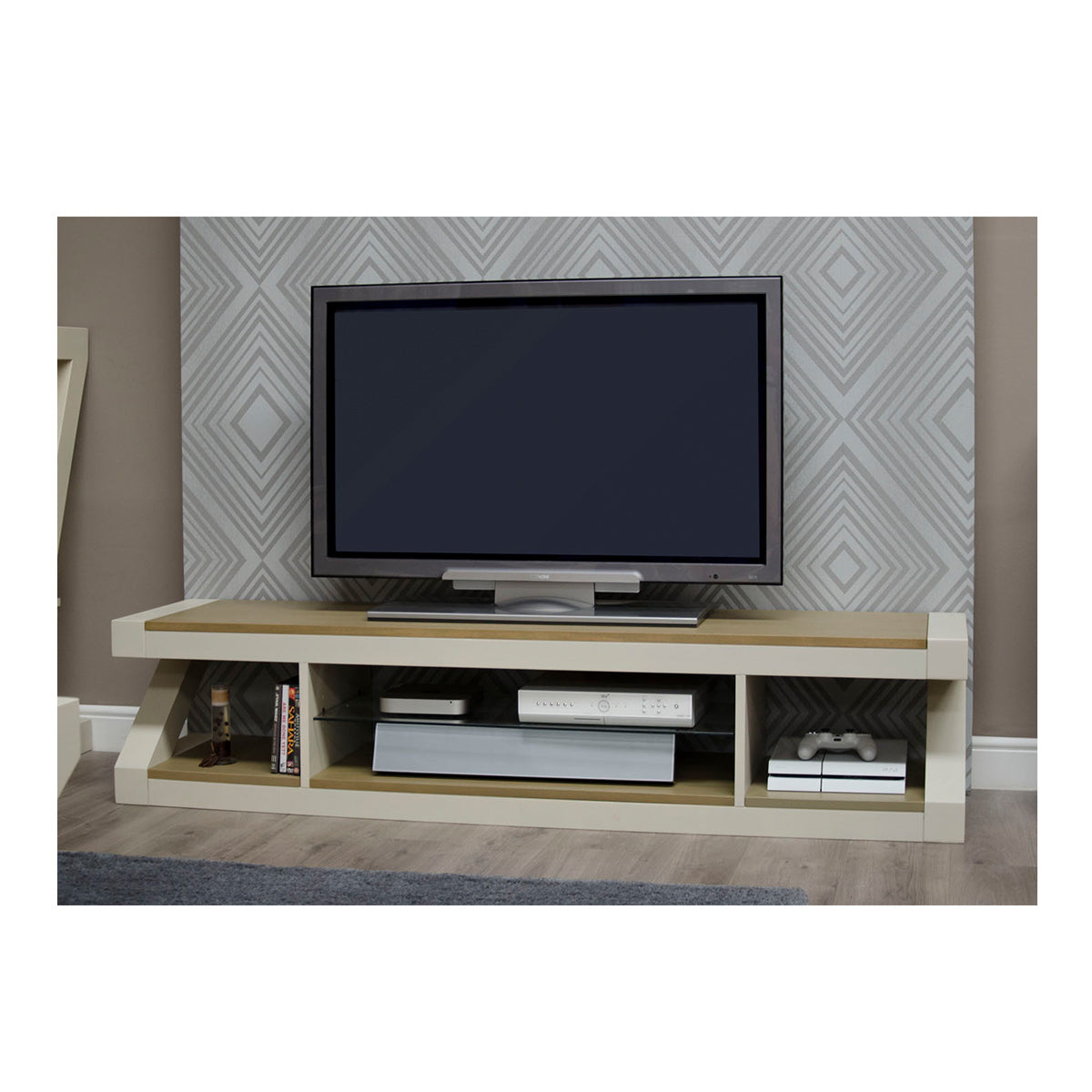 Zenith Painted Large Plasma TV Unit