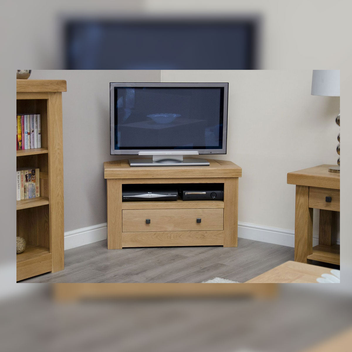 Grande Oak Corner TV Unit