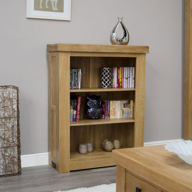 Grande Oak Small Bookcase