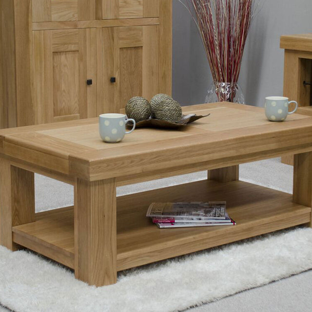Grande Oak Coffee Table