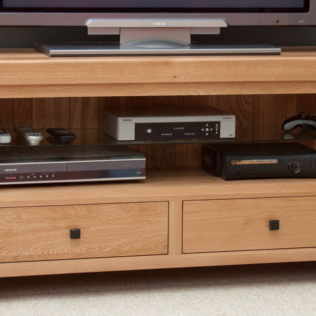 Grande Oak TV Unit