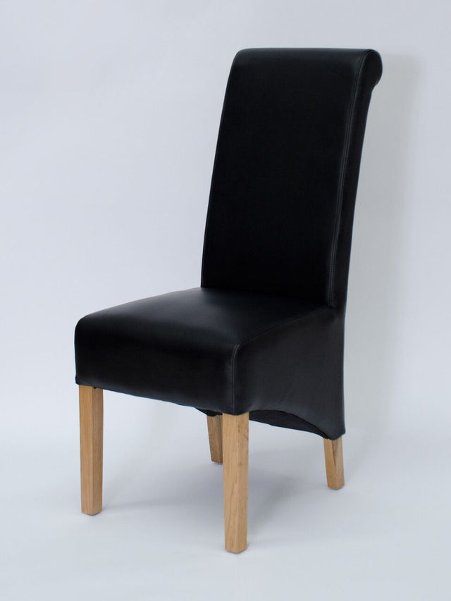 Richmond Noire Leather Chair