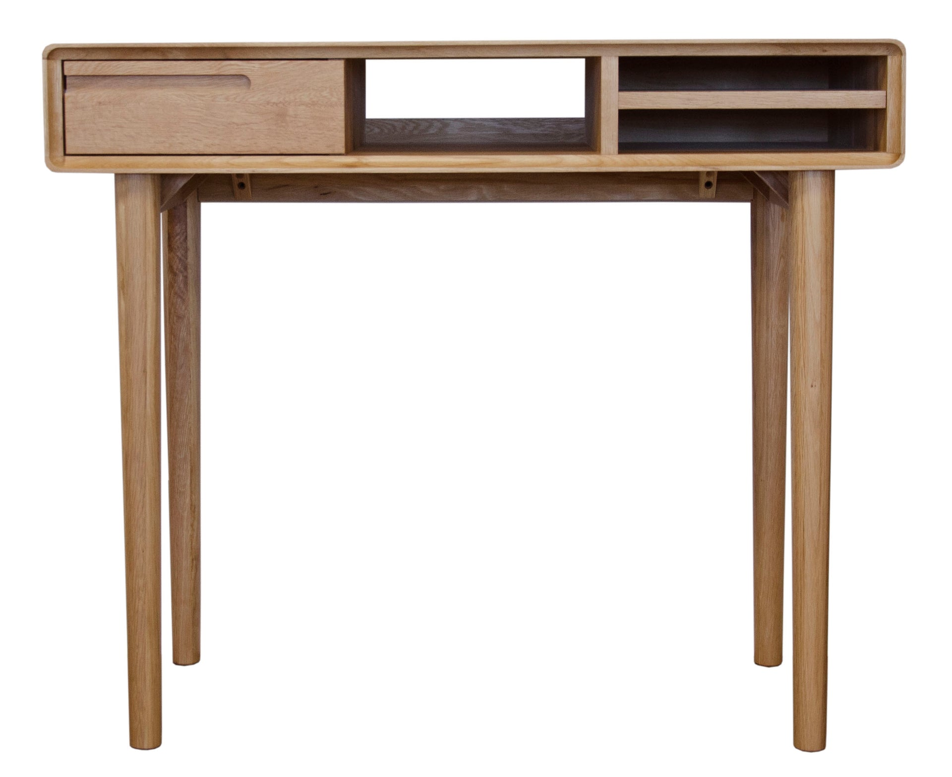 Scandic Oak Compact Computer Desk