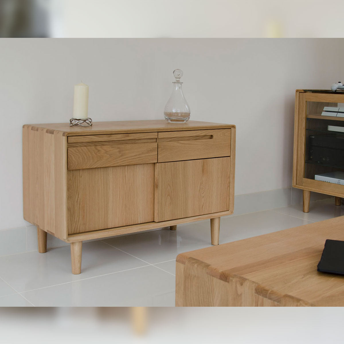 Scandic Oak Narrow Unit