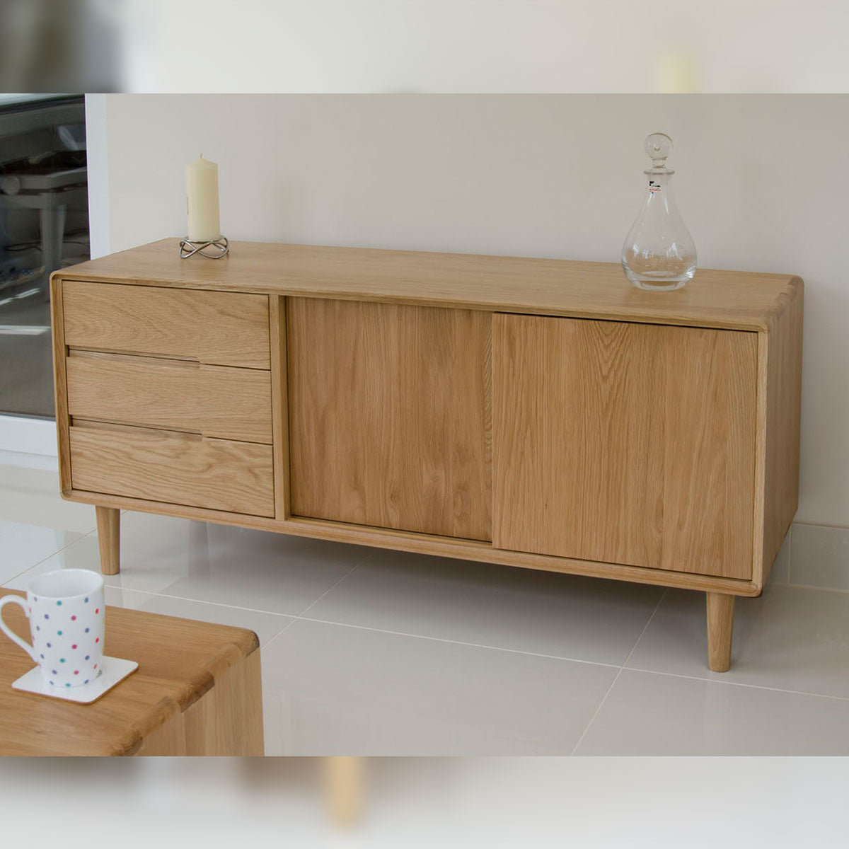 Scandic Oak Wide Unit