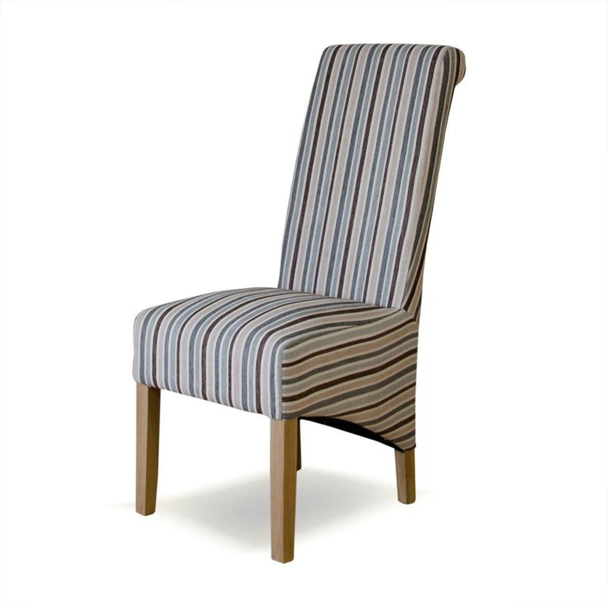 Richmond Striped Fabric Chair