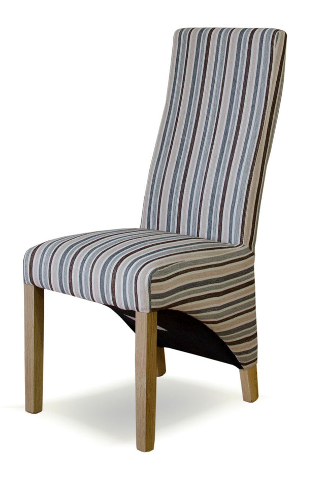 Richmond Stripe Wave Back Chair