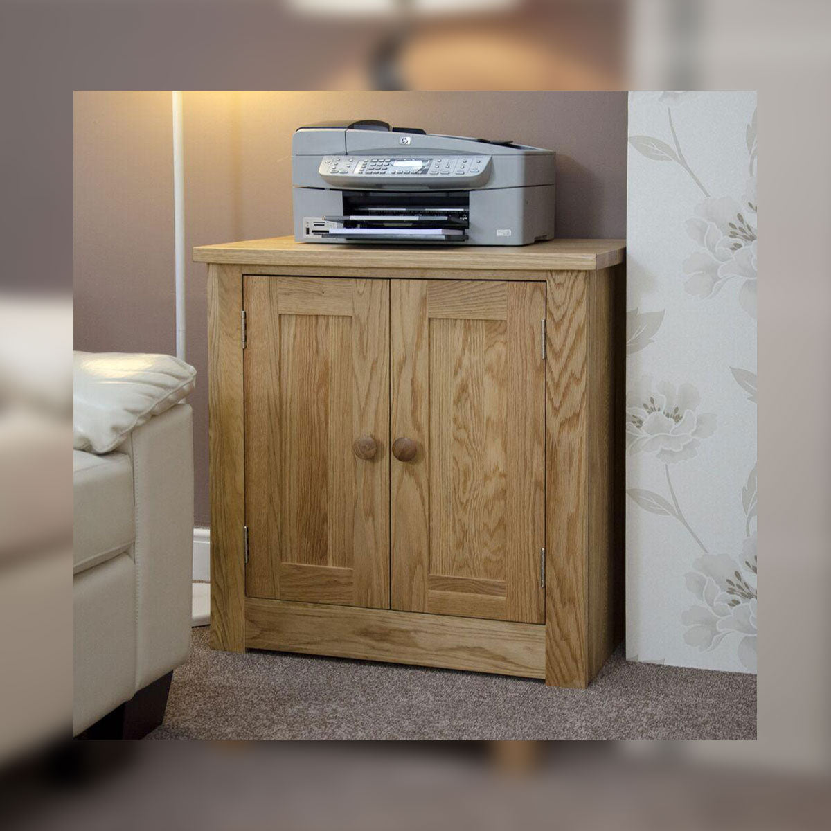 Valencia Deluxe Oak Printer/Occasional Cabinet