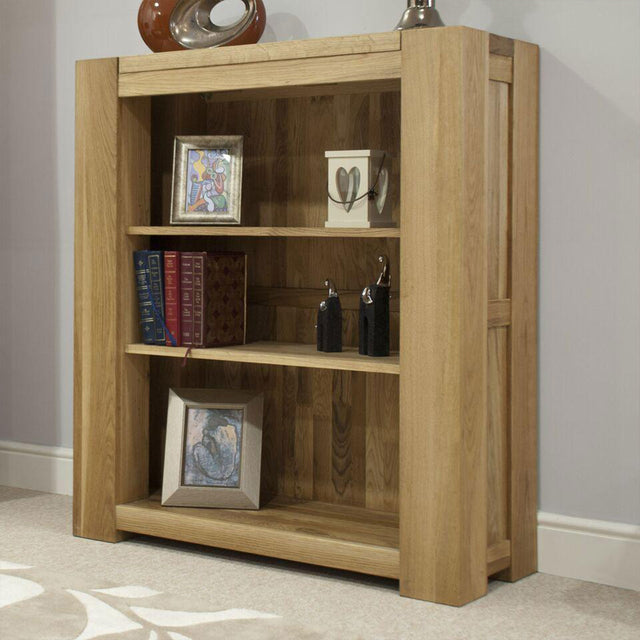 Barcelona Oak Small Bookcase