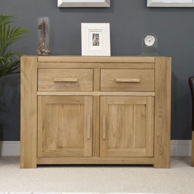 Barcelona Oak Medium Sideboard