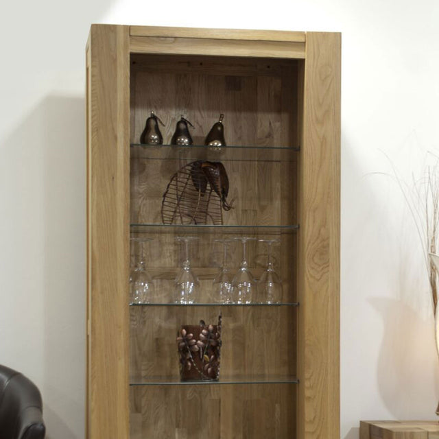 Barcelona Oak Tall Bookcase