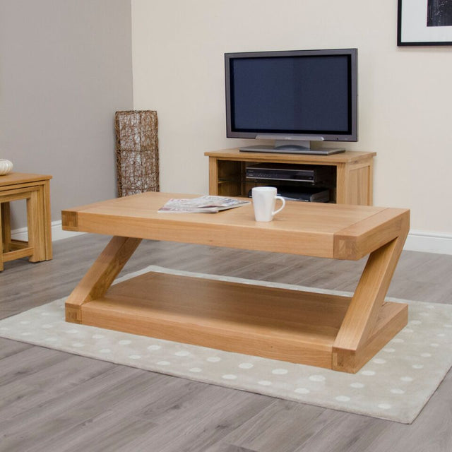 Zenith Oak 4x2 Coffee Table
