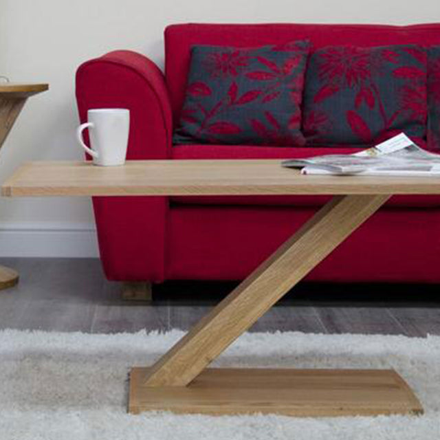 Zenith Oak Modern Coffee Table