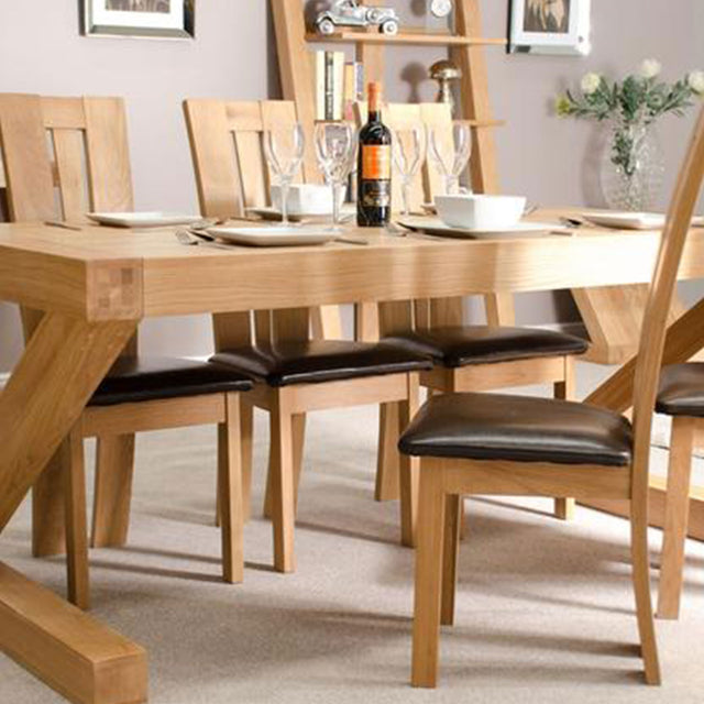 Zenith Oak 6x3 Dining Table