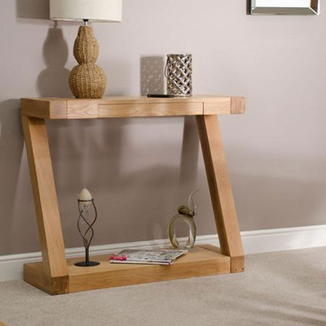 Zenith Oak Hall Table