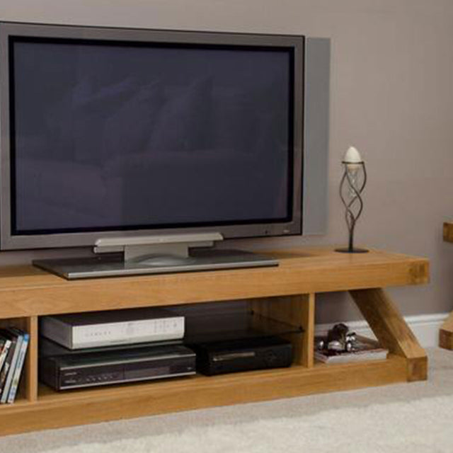 Zenith Oak Large Plasma TV Unit