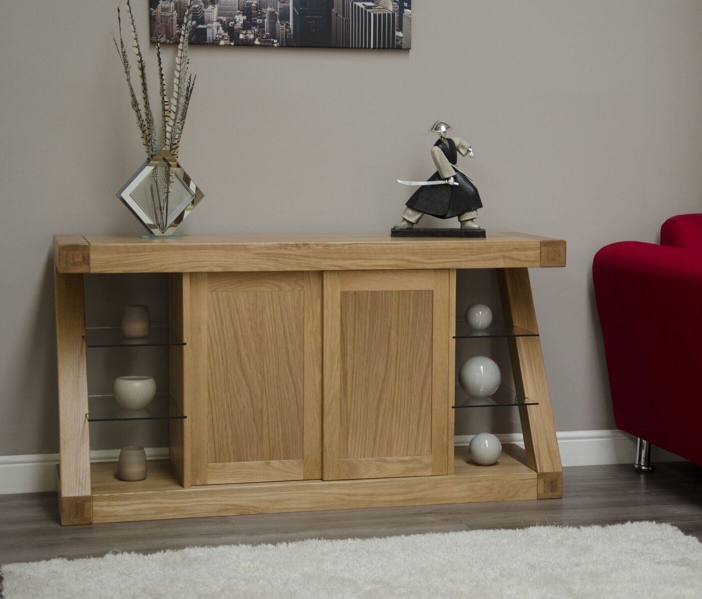 Zenith Oak Large Sideboard