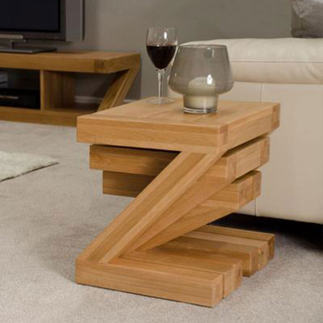 Zenith Oak Nest Of Tables