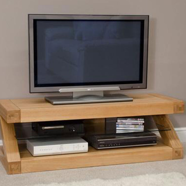 Zenith Oak Plasma TV Unit