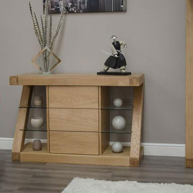 Zenith Oak Small Sideboard