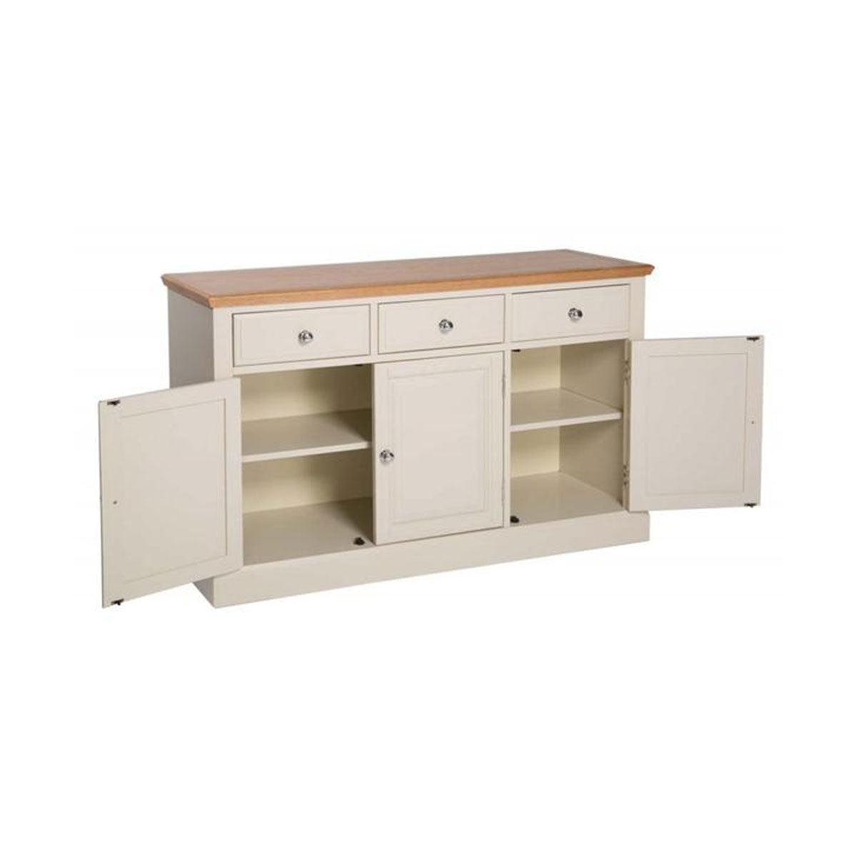 Turin Painted Oak Large Sideboard