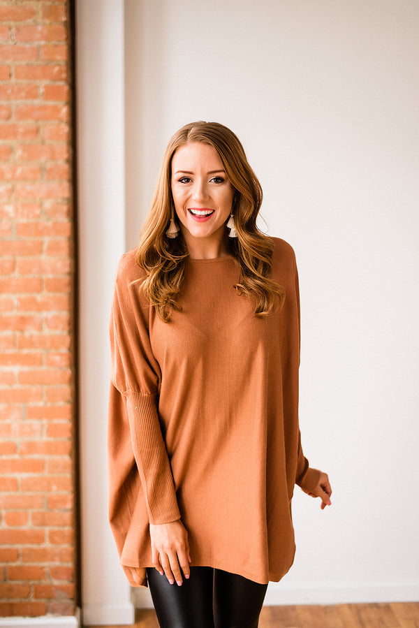 Oversized Tunic Pullover
