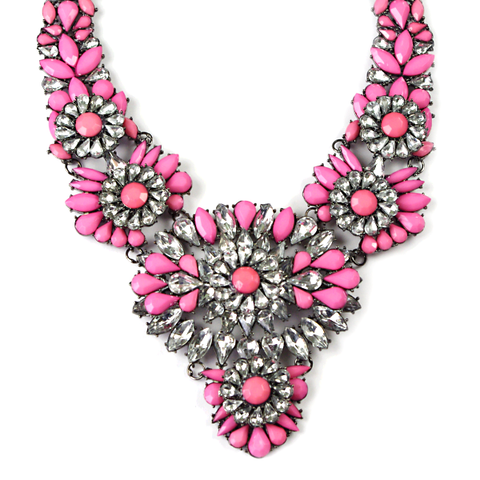 Hibiscus Showstopper Necklace