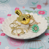 Gold Robin Jewellery Dish