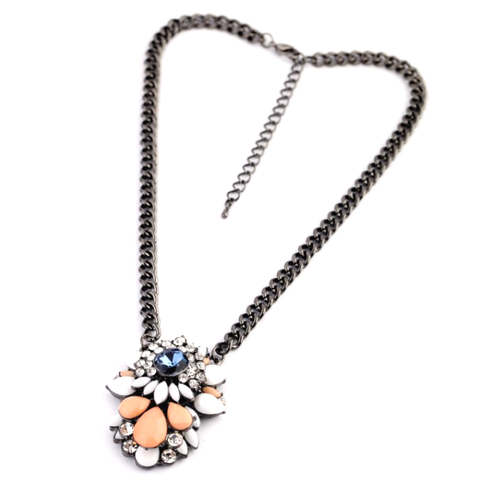 Peach Parfait Necklace