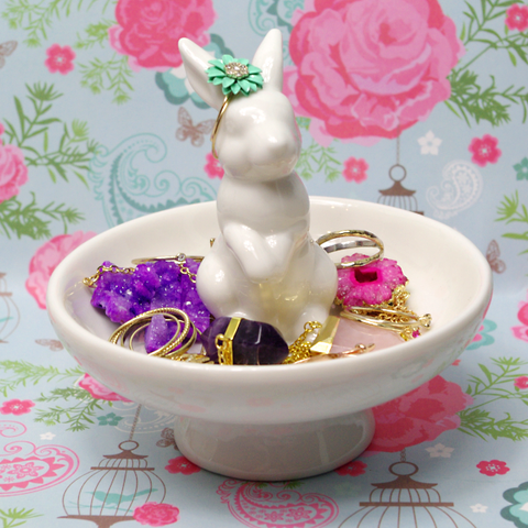 Bunny Rabbit Jewellery Dish
