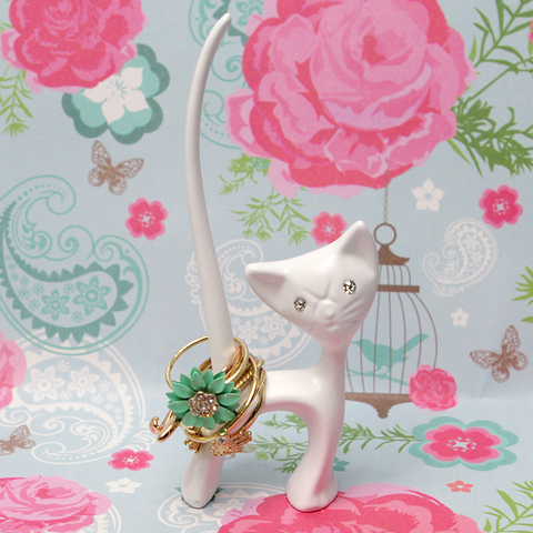 Cat Tail Ring Holder