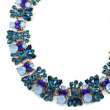 Chrysler Blue Necklace