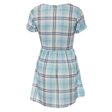 Tartan Check Skater Dress