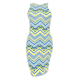 Chevron Bodycon Dress