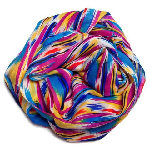 Bright Chevron Scarf