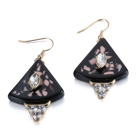 Sangria Drop Earrings
