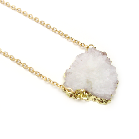 Shooting Star Stalactite Necklace