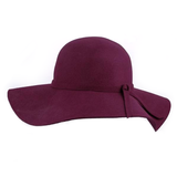 Burgundy Floppy Hat