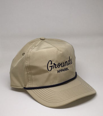 The 'Trevino' Classic Rope Hat - Tan
