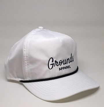 The 'Trevino' Classic Rope Hat - White