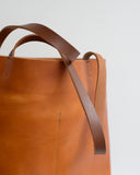 Shopper Tote in Camel