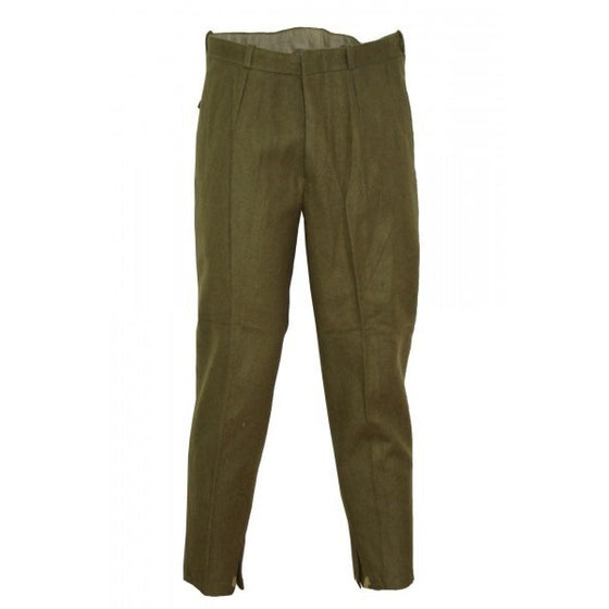 Romanian Khaki Wool Field Pants- Used