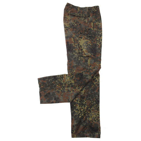 German Woodland Flecktarn Combat Trousers- Used