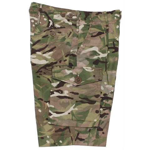 British MTP Camouflage Bermudas. Like New