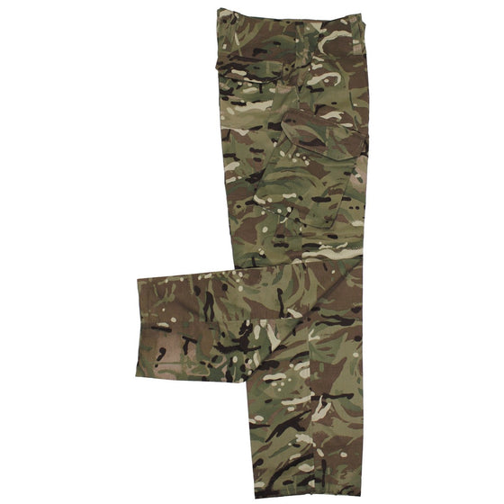 British MTP Temperate Weight Camouflage Field Pants-Used